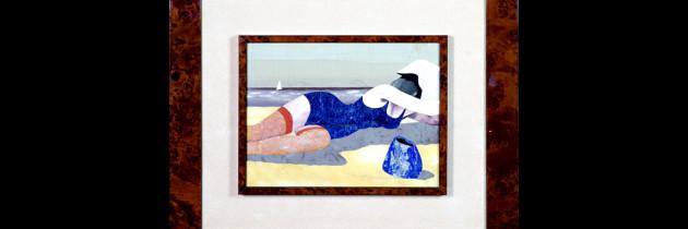 Mosaic : Spiaggia 17×24