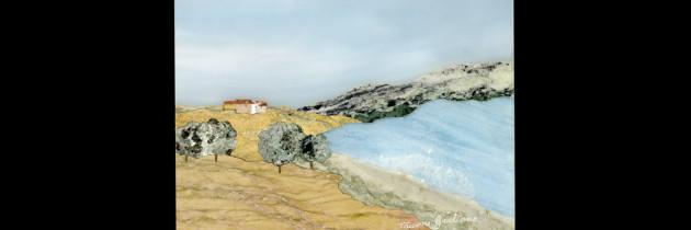 Mosaico : Veduta Campagna 10×12
