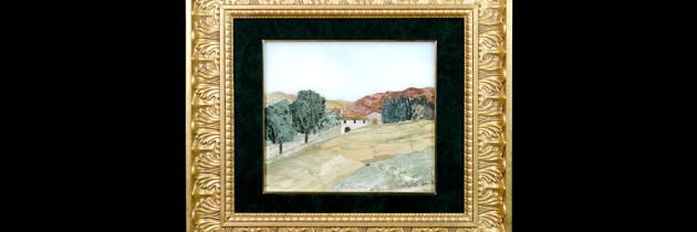 Mosaic : Veduta Campagna 24×29