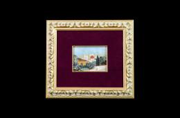 Mosaico : Veduta Firenze 8×11
