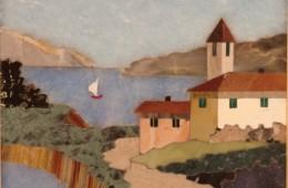 Paesaggio con lago – 11×13